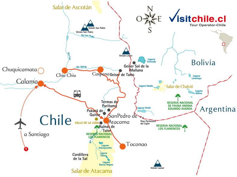 Tours Para Visitar San Pedro De Atacama Chile